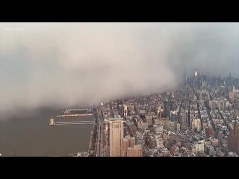 Why We Love Houston Winters: New York City Hit By Snow Squall