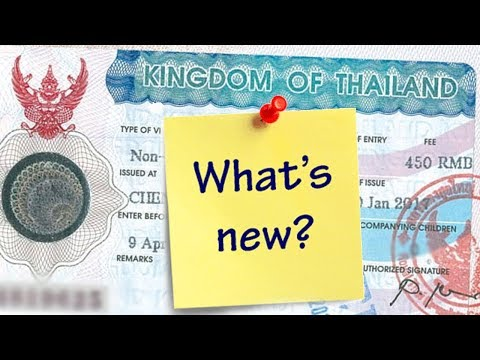 U.S CITIZENS - NEW THAI VISA RULE