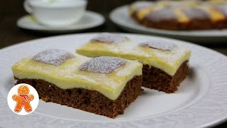 """Пирог """"Творожный красавчик / Стеганое одеяло"""" очень простой и вкусный"""