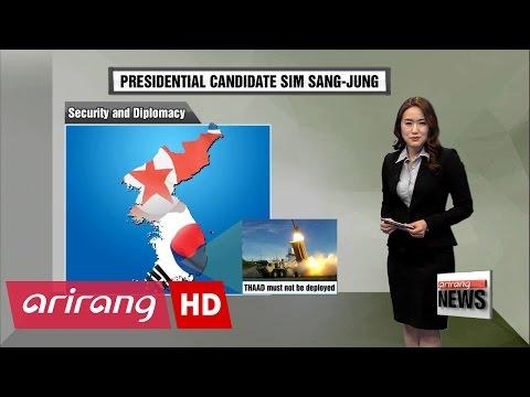 Korea's Presidential Candidates: Sim Sang-jung