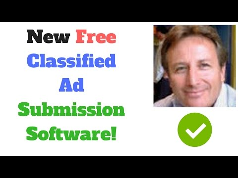 New Free Classified Ad Submission Software (Free Global Classified Ad Submitter)