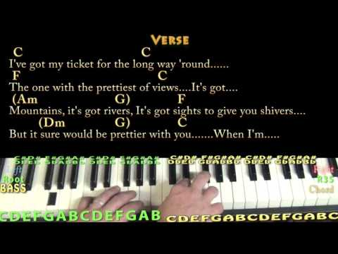 Cups (Pitch Perfect's When I'm Gone) Piano Cover Lesson with Chords/Lyrics
