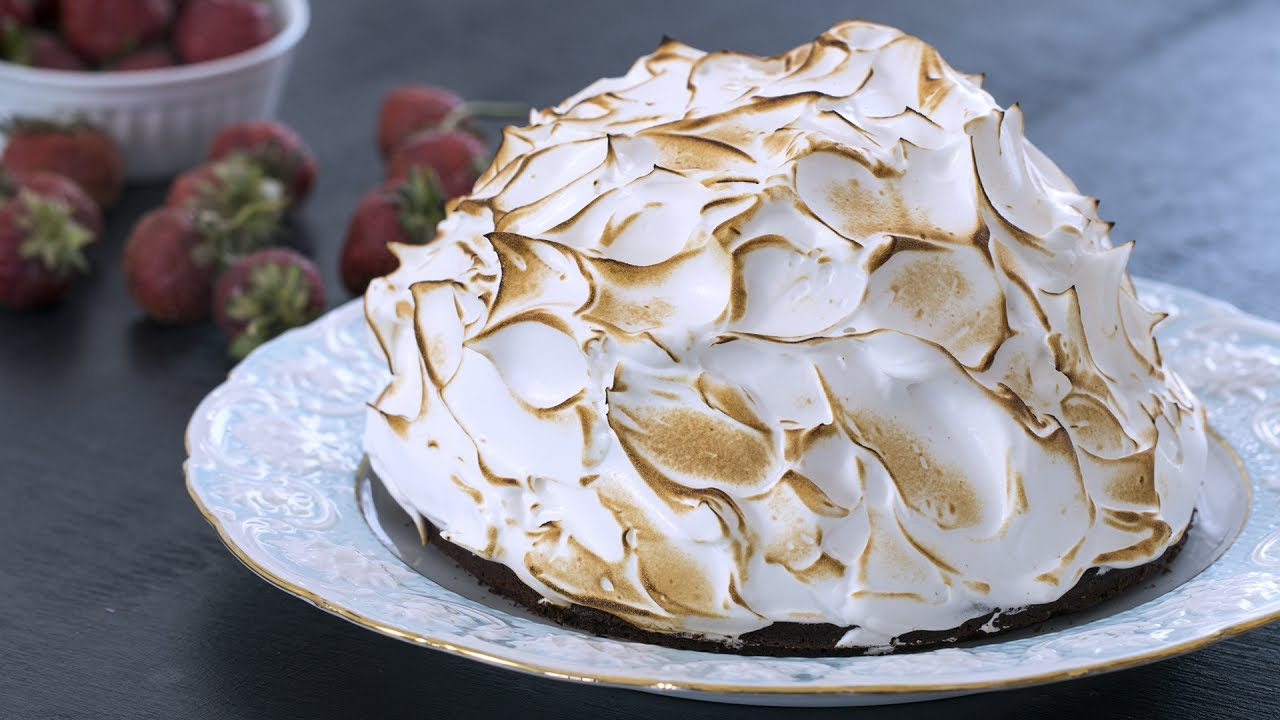 How to make meringue baked alaska