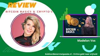 Bitcoin Basics & Crypto's Review: Ultieme Beginnerscursus van Madelon Vos? Ervaringen + 10% korting