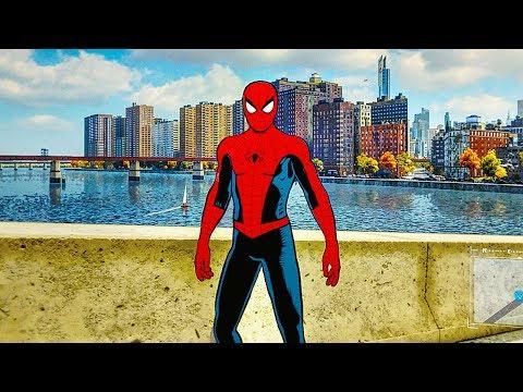 SPIDER MAN PS4 Vintage Comic Book Suit...