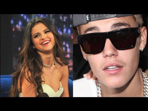 Selena Gomez Pokes Fun At Justin Bieber's Mustache!