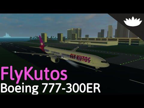 Roblox Airline Review: FlyKutos B777-300ER (Investors Flight)