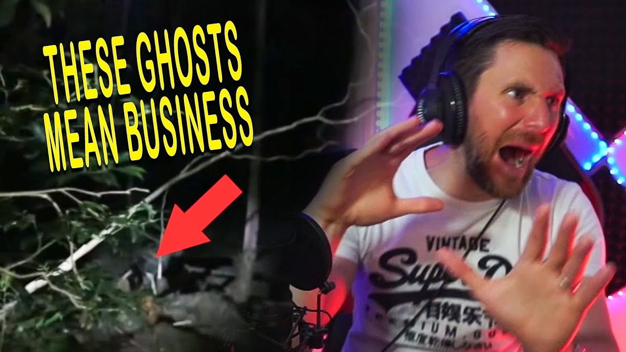 TOP 5 GHOST VIDEOS THAT WILL MAKE YOU POOOOP - THE 3X REACTION