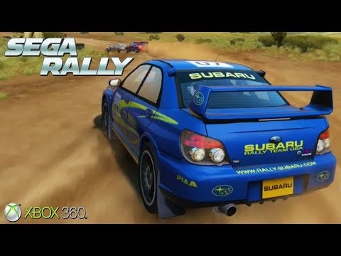 Sega Rally - Xbox 360 / Ps3 Gameplay (2007)