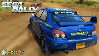 Sega Rally - Xbox 360 / Ps3 Gameplay (2007)