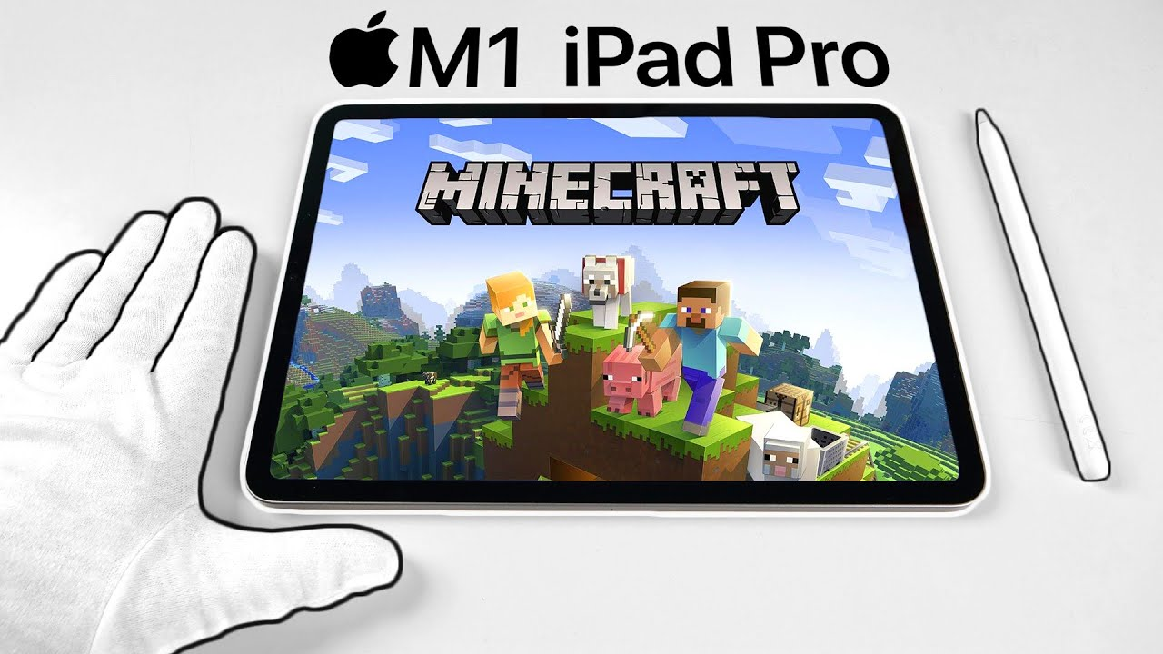 Apple M1 iPad Pro Unboxing - Best Tablet for Gaming? (PUBG, Minecraft, Call of Duty)