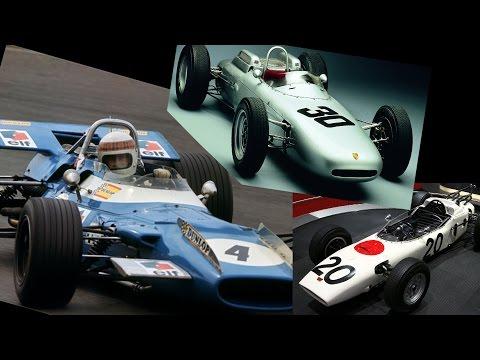 История формулы 1, 60-е || Джек Брэбем, Грэм Хилл, Джим Кларк и Джекки Стюард
