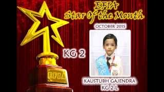 "Congratulations!!! 1st Anniversary of ""STAR OF THE MONTH"", OCTOBER RESULTS 2015"