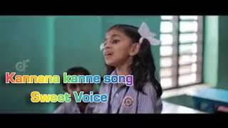 #kannanakanne #tamilsong Kannana kanne song | beautifully sing a girl | in school
