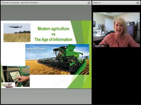 Webinar: Real Dirt on Farming – tips and techniques
