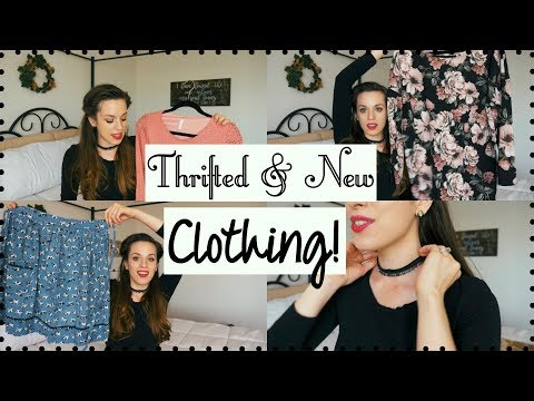 FALL CLOTHING HAUL! THRIFTED, VINTAGE, & NEW ITEMS! PINKBLUSH, ETSY, SAVERS & MORE!
