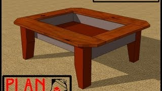 Chief's Shop Plan Of The Week: Rustic Coffee Table