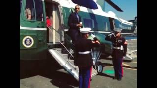 Честь Обамы с латте