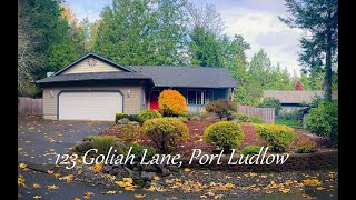 123 Goliah Lane Port Ludlow Washington