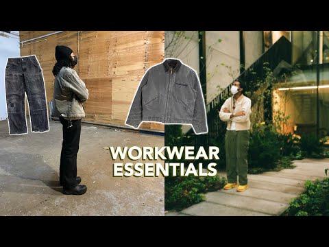 Why Workwear is a Wardrobe essential