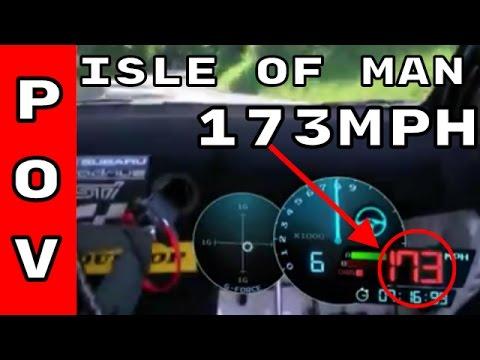 Mark Higgins POV Isle Of Man TT Run In 2016 Subaru WRX STI