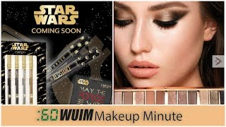 STAR WARS Makeup Collection Is COMING + Charlotte Tilbury Instant Eye PRESALE | Makeup Minute