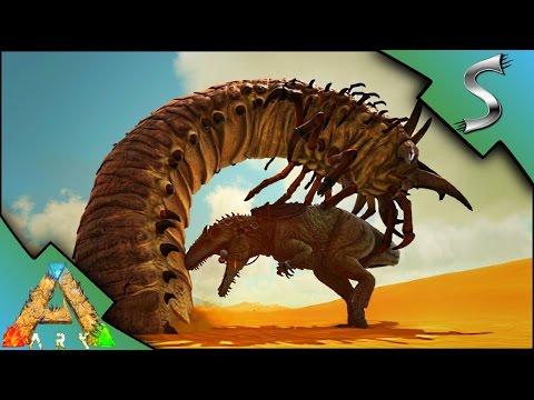 GIGANTOSAURUS VS ALPHA DEATHWORM & WYVERNS! | Ark: Scorched Earth [Gameplay E30]
