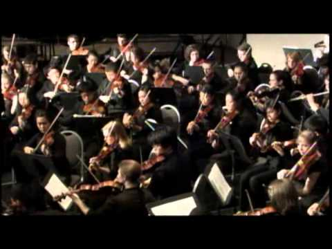 Ohio All State Orchestra 2012 Tchaikovsky Symphony 4  Video 01
