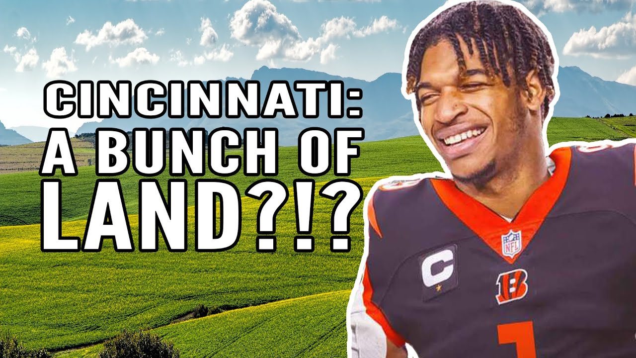 Moving to Cincinnati - Is it Just Land?!?
