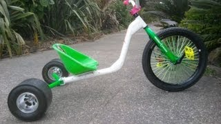 How To make a Drift Trike