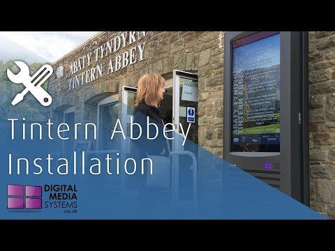 Tintern Abbey Outdoor Display Installation