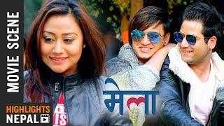 केटीको लागि पर्यो झगडा | New Nepali Movie MELA Scene | Salon Basnet, Aashishma Nakarmi