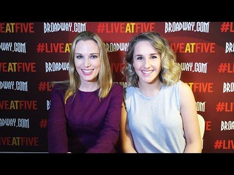 Broadway.com #LiveatFive with KINKY BOOTS star Jeanna de Waal