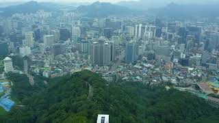 View from Namsan Seoul Tower (남산서울타워) , South Korea