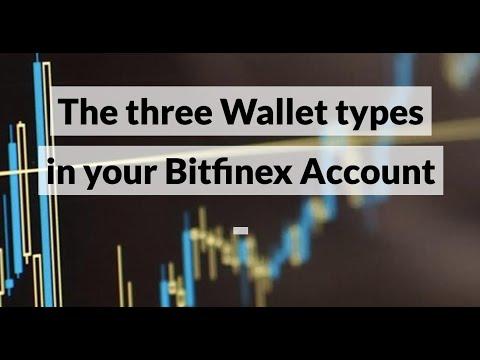 The Three Wallet Types In Your Bitfinex Account  (Exchange Wallet, Margin Wallet & Funding Wallet