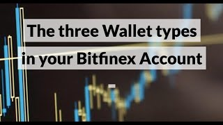 The three Wallet types in your Bitfinex Account  (Exchange Wallet, Margin Wallet \u0026 Funding Wallet