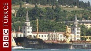 Dünyanın en tehlikeli su yolu: İstanbul Boğazı