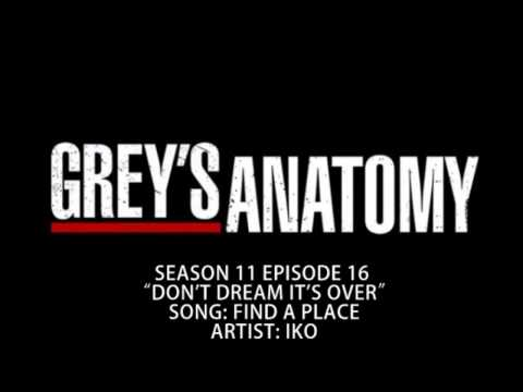 Grey's Anatomy S11E16 - Find a Place by Iko