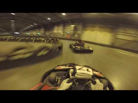 First Lap + Overtakes @ Liverpool TeamSport 50 Lap Race 29/12/16