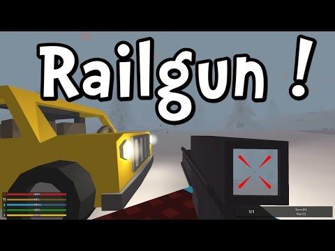 UNTURNED 3.0 Railgun Roadtrip to Secret Laboratory!