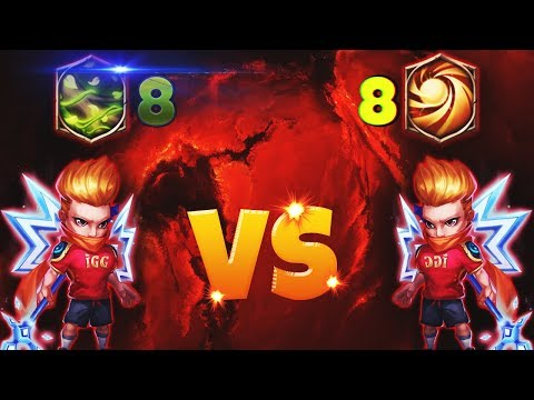 8 Vital Boon Michael |VS| 8 Sacred Light Michael | CASTLE CLASH