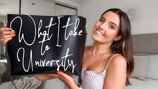 what's in my bag for universit…