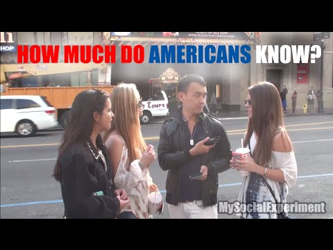 How Much Do Americans Know About the World?