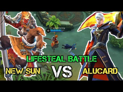 New Sun VS Alucard [King Monkey VS King Lifesteal] #Experiment