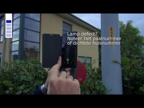 Defecte straatlamp melden? Online zo gedaan!
