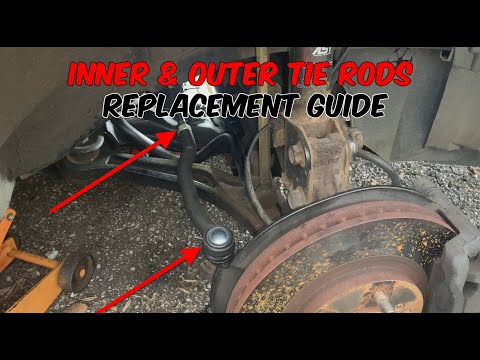 How To Replace Inner & Outer Tie Rods (Acura MDX)