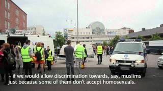 tampere pride 21.7.2012 FDL not welcome