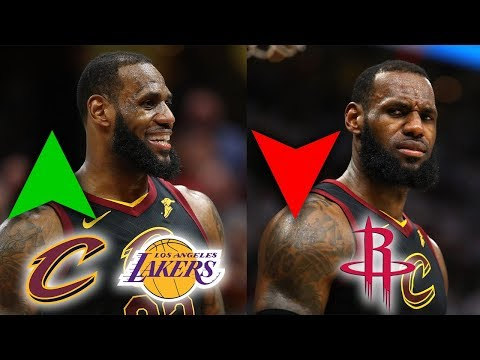 What LeBron James Opting-Out Means For His Free Agency