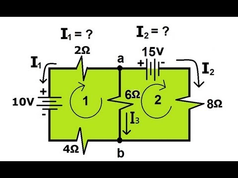 Physics - Resistors in Series and Parallel (4 of 5) Kirchhoff's Rules
