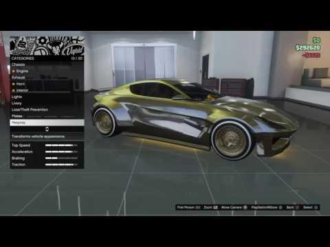 GTA Online: Dewbauchee Specter / Dewbauchee Specter Custom